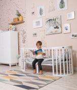 Erweiterung / 8te Transformation für Babybett SmartGrow 7in1 - weiss