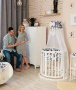 Schaukelpendulum / Schaukelfunktion für Babybett SmartGrow 7in1 - ohne Bett